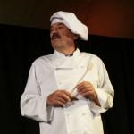 """und """"Maitre Pierre"""" bei der großen Einkochshow."""