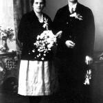 Die Großeltern Rosa und Richard Dürnberger