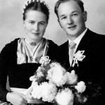 Hochzeitsfoto der Eltern, Maria & Richard Dürnberger