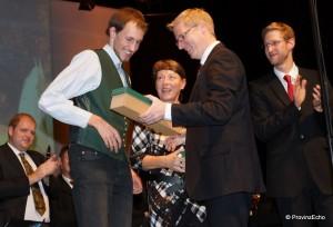Madleitner dankt Gruchmann und Lea Anders