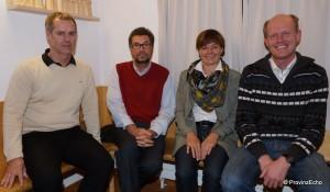 Horst Gschwandtner, Walter Müller, Edith Trentini, Toni Fersterer