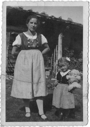 Barbara Rettenbacher mit ihrer Mutter