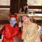 Hübsches Paar, Teufel und Prinzessin