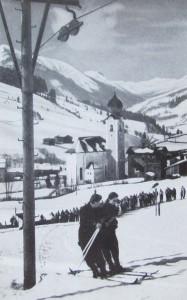 Schilift Saalbach