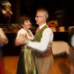 Stv. Obmann Christoph Hörl und seine Roswitha genießen den Ball