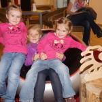 Sarah, Julia und Sandra gefällt die Veranstaltung