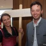 Geschäftsführer Stefan Pühringer mit Partnerin Katrin Grasser