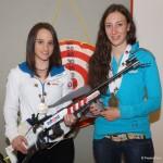 Christine Rieder und Julia Schwaiger, Medaillengewinnerinnen bei der Jugend WM sind auch anwesend