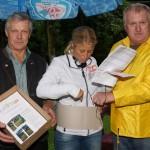 Hans Schmuck und Heini Ruhs vom Obst und Gartenbauverein