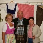 Gastgeber Kaspar Breitfuß mit seinen Schwestern Cilly und Frieda