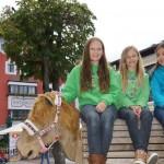 Franziska, Lara und Alina von der Grukodilfarm