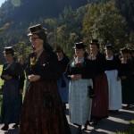 Die Trachtenfrauen mit Obfrau Martina Hammerschmid