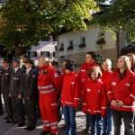 Die Kollegen vom Roten Kreuz