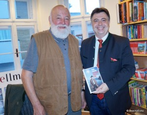 Sepp Forcher mit Bgm. Peter Padourek