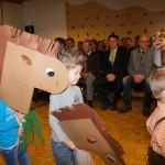 Aufmarsch der Pferde