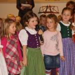 Sogar ein eigenes Gedicht über den Kindergarten wurde präsentiert