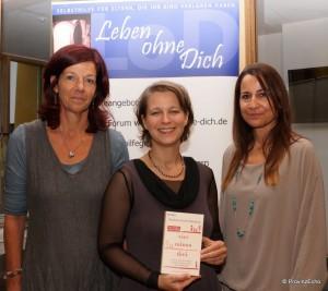 Andrea Ferstl (Selbsthilfegruppe), B. Pachl-Eberhart, Barbara Hutter (Trauerbegleiterin)