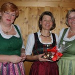 Pädagoginnen Maria Faistauer, Christine Zandl, Direktorin HWS Ulrike Windig