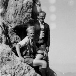 Seppi und Richard, Bergtour